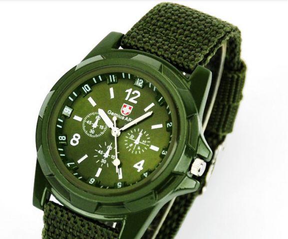 5af318592 Levné vojenské hodinky Swiss - 4 barvy